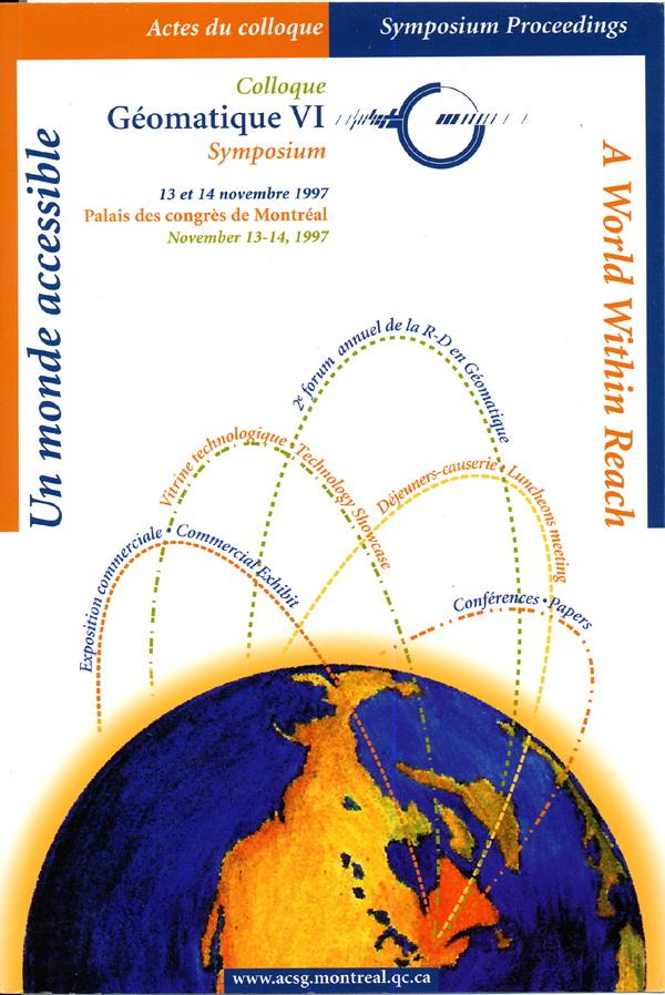 1997 Géomatique VI